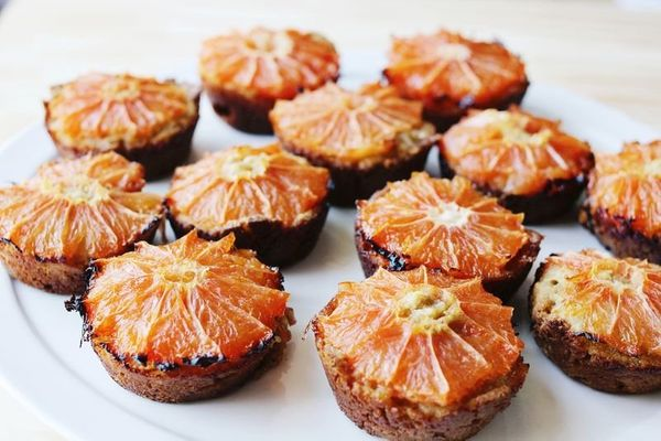 """<strong>Get the <a href=""""http://www.abeautifulmess.com/2013/04/grapefruit-and-brown-sugar-muffins.html"""" target=""""_blank"""">Grape"""