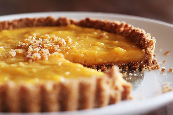 "<strong>Get the <a href=""http://food52.com/recipes/10058-grapefruit-ginger-tart"" target=""_blank"">Grapefruit & Ginger Tart rec"