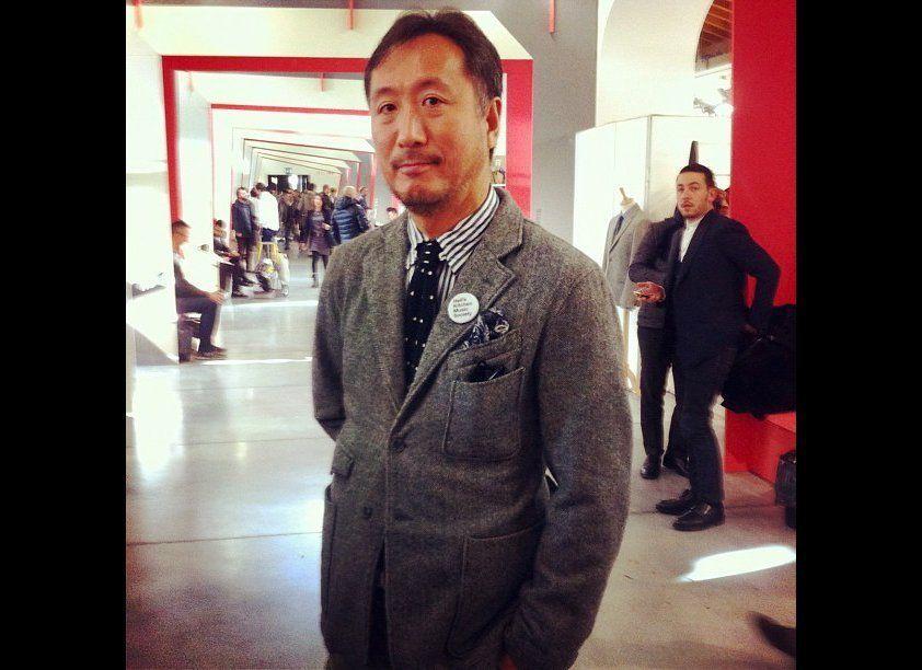 "Daiki Suzuki, Designer and Managing Director of <a href=""http://engineeredgarments.com/"" target=""_hplink"">Engineered Garments"