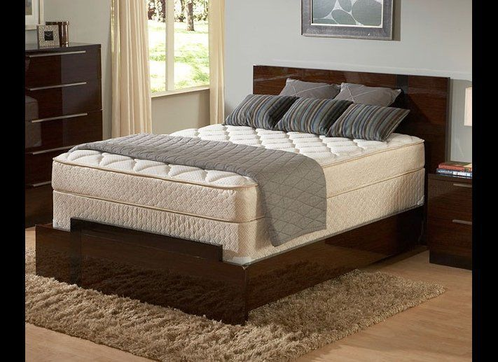 """This is a good standard innerspring mattress that is packed with high-density foam for added firmness. <a href=""""http://Sleepy"""