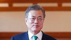문대통령 지지율이 한국갤럽 조사에서도 50%대를