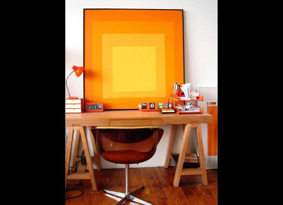 Design Inspiration: 25 Orange Paint Ideas For Kitchen, Foyer, Living ...