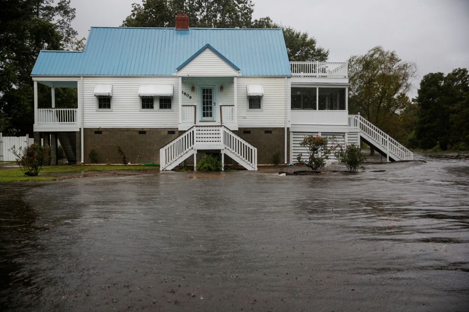 Hurricane Florence Approach Swamps North And South