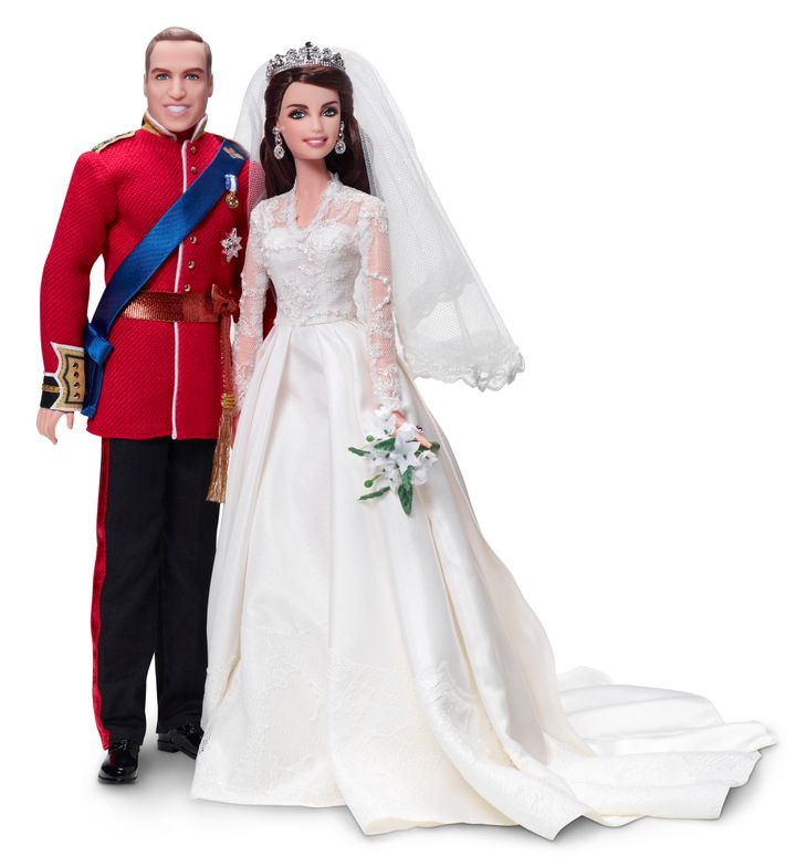 5a0c0603fa46 For those who still can't get enough of last year's royal wedding, Mattel  is releasing a Barbie and Ken version of Prince William and Kate -- just in  time .