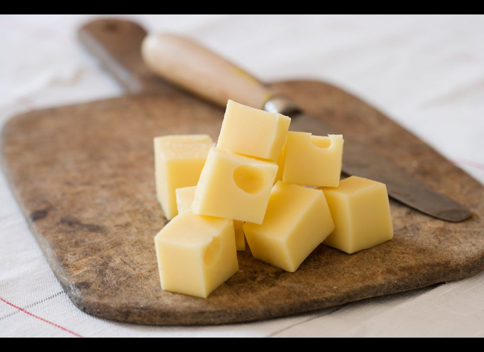 Cheese is low in sugar and acid and high in calcium, making it a good choice. But it also contains casein, a protein found in