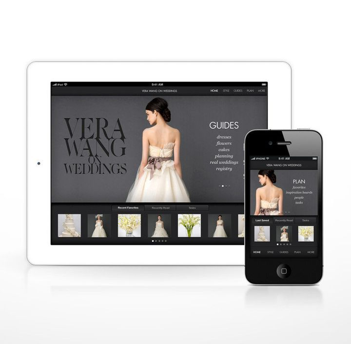 Wedding Planning App.Vera Wang Shares Her Top Wedding Planning Tips And Launches A