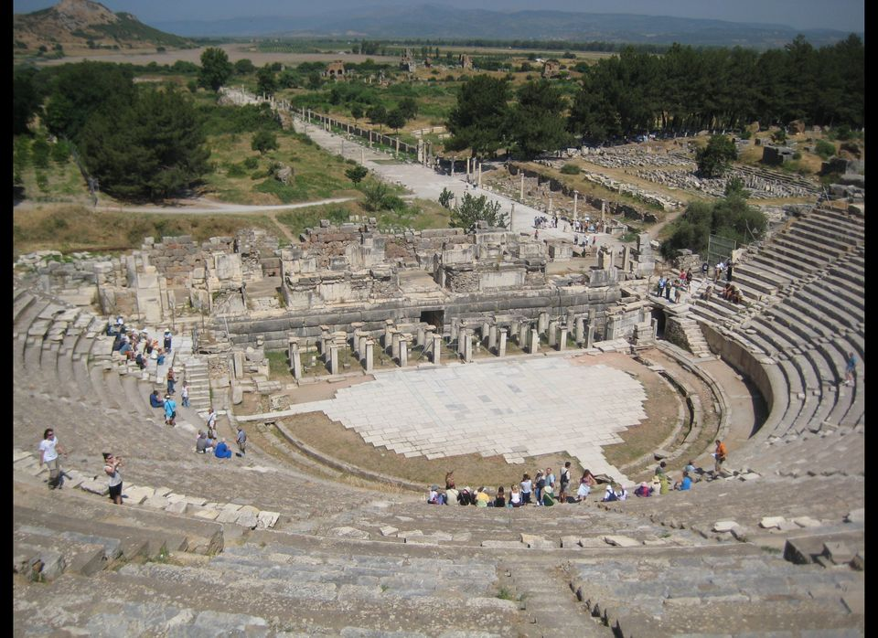 <em>If all the world's a stage, then this is the center of the earth...</em>