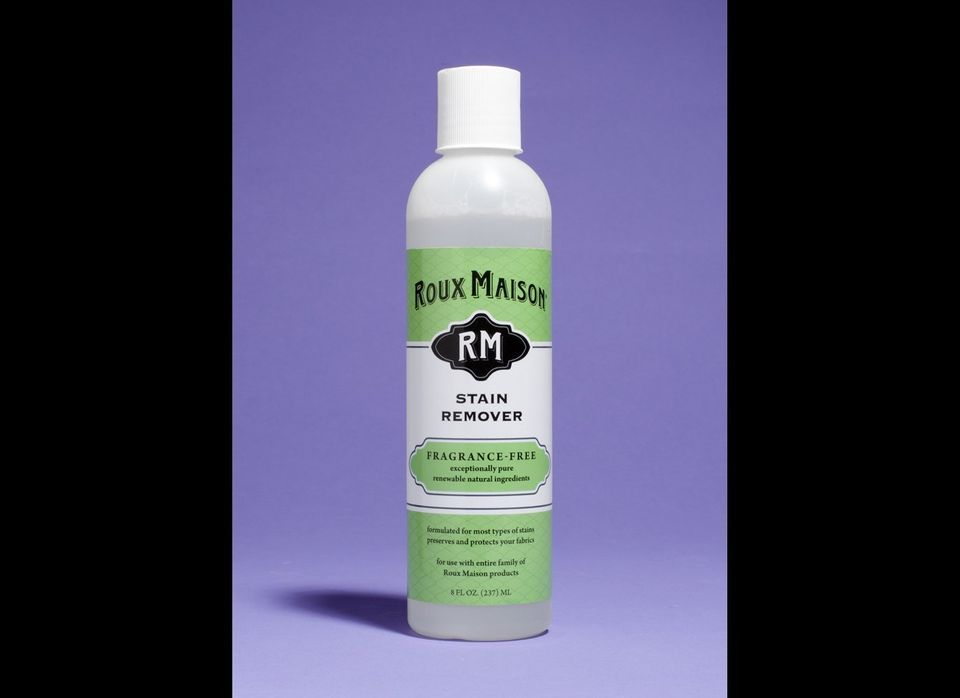 "Effectively removes stains without scary bleach effects. <a href=""https://www.rouxmaison.com/index.php/products/stain-remover"