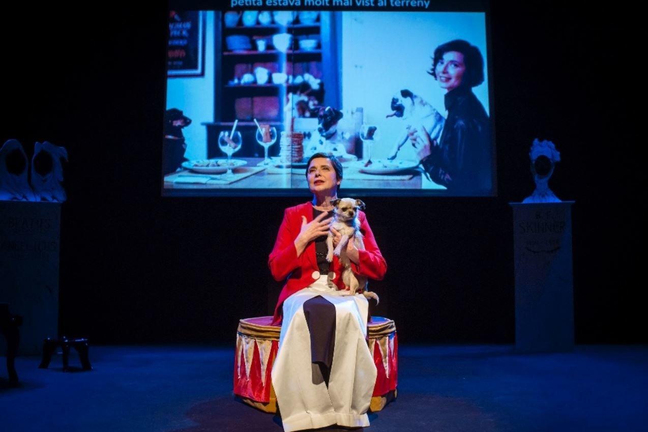 Η Ιζαμπέλα Ροσελίνι στο Μέγαρο Μουσικής: Τίποτα δεν συμβαίνει, αν πρώτα δεν ονειρευτούμε...