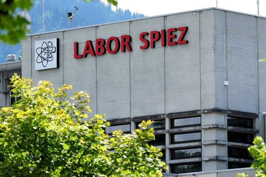The Labor Spiez laboratory in
