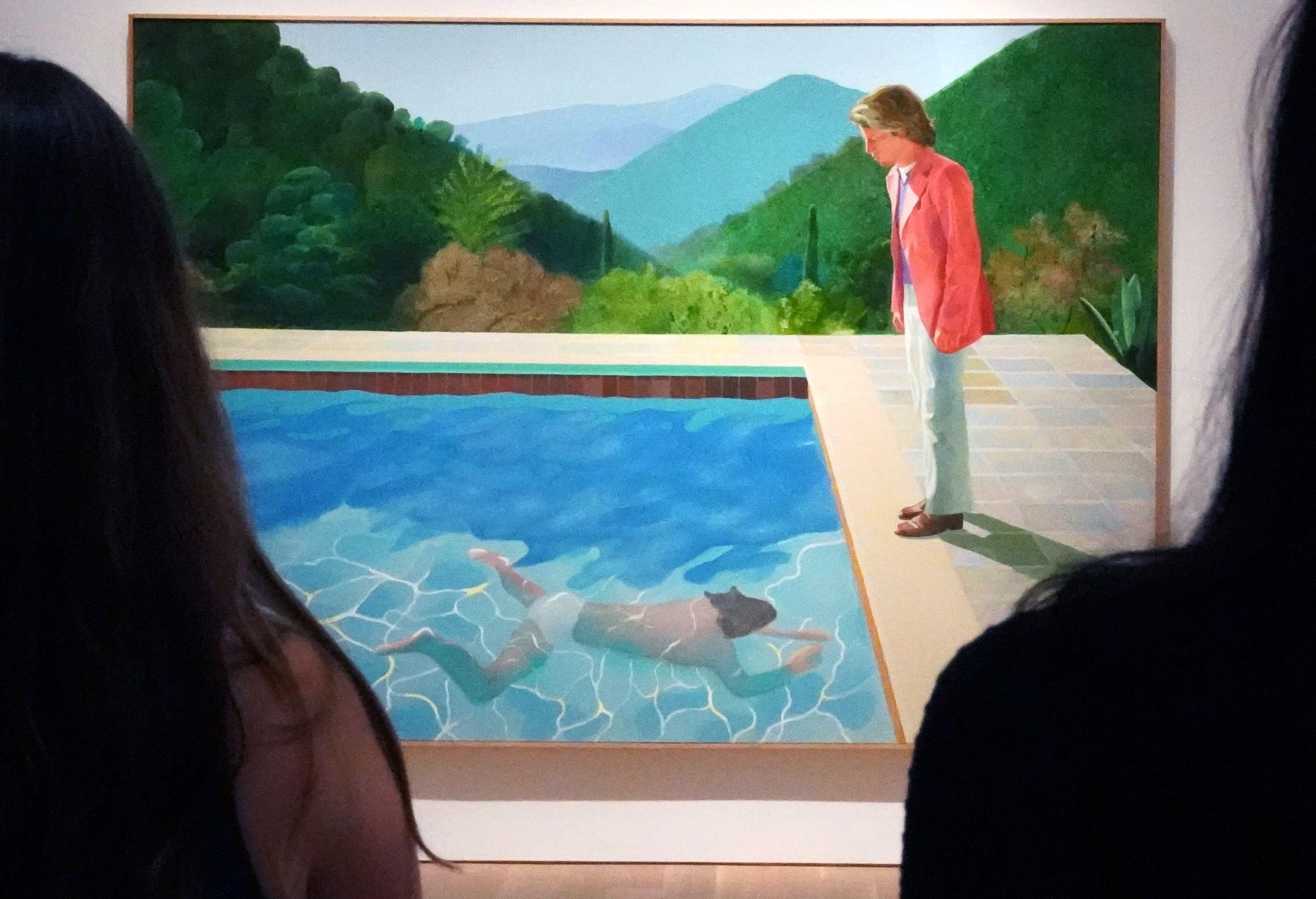 Με αυτό το έργο τέχνης ο Ντέιβιντ Χόκνεϊ θα σπάσει το ρεκόρ του πιο ακριβού καλλιτέχνη εν