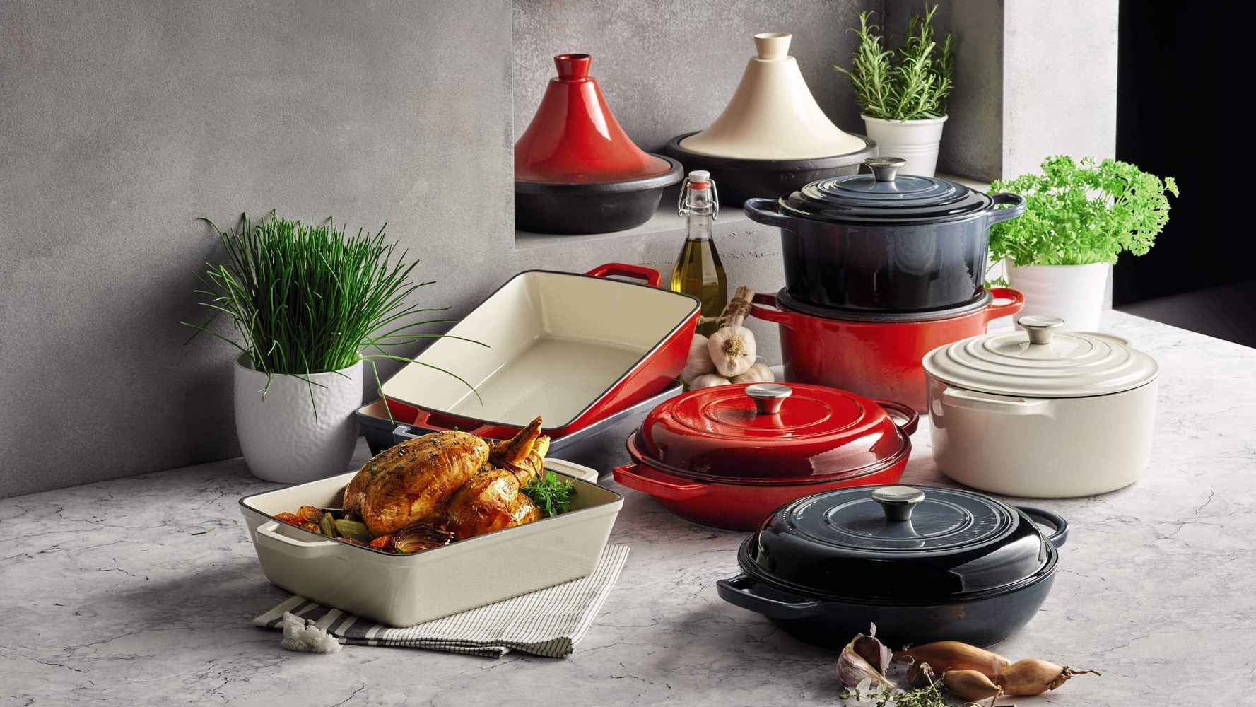 Aldi's Launching A Cast-Iron Cookware Range To Rival Le Creuset