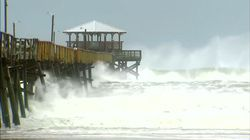 US East Coast Battered By Hurricane