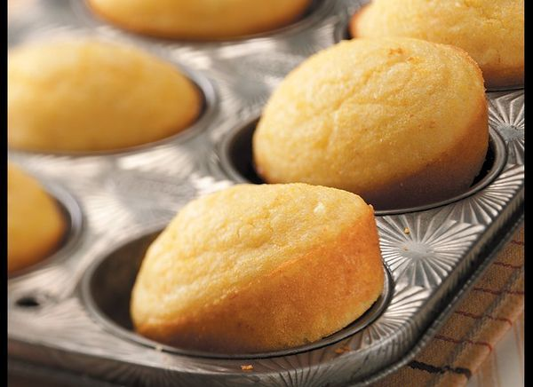 These corn muffins are tender and moist -- and nicely studded with whole corn kernels. They're great served aside a bowl of c