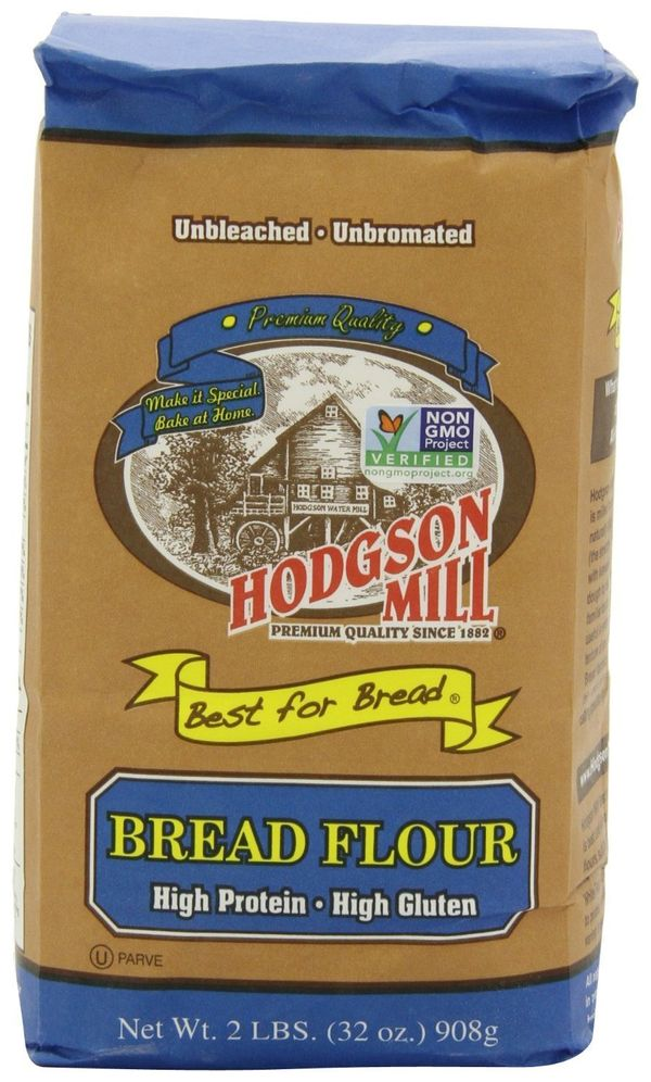 <strong>What it is:</strong> Made from hard wheat with a high level of protein (at about 12-14 percent), bread flour is great