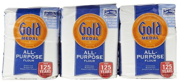 <strong>What it is:</strong> Otherwise known as plain flour, all-purpose flour is a blend of hard and soft wheat with 10-12 p