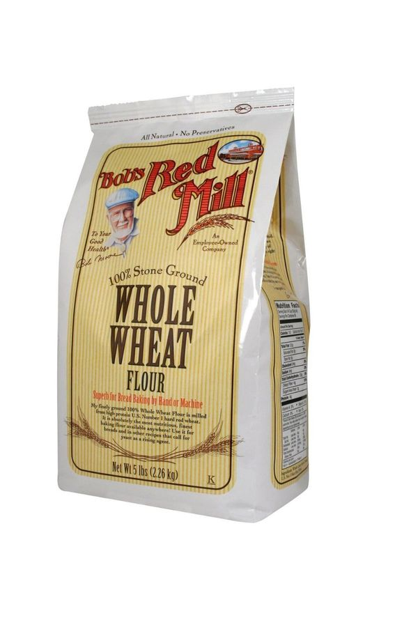 <strong>What it is</strong> Whole wheat flour is made from the entire kernel of hard red wheat, which gives it a darker brown