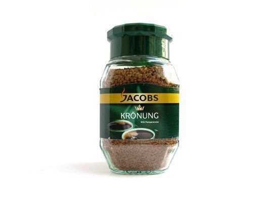 """(made by Kraft Foods Deutschland)  <b>Comments:</b> """"Oaky aroma and flavor."""" """"Not bad -- tastes like regular coffee."""" """"Inof"""