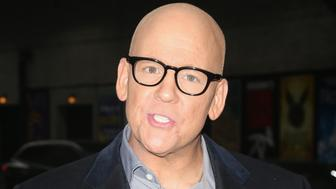 NEW YORK, NY - MARCH 29:  John Heilemann arrives for his appearance on the 'Late Show With Stephen Colbert' at Ed Sullivan Theater on March 29, 2018 in New York City.  (Photo by Karl Moor/Getty Images)