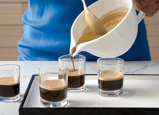 Cuban coffee is famous for the thick layer of foam. This recipe shows you how. All you need do is beat a portion of the espre