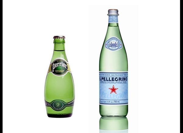 Sparkling mineral water comes from a natural spring which contains various minerals, like salts and sulfur compounds. It's de