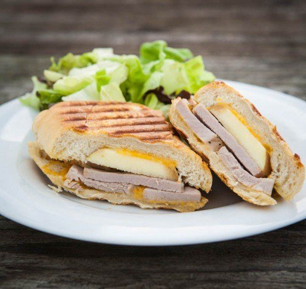 """<strong>Get the <a href=""""http://eclecticrecipes.com/apple-cheddar-and-pork-tenderloin-panini"""" target=""""_blank"""">Apple Cheddar a"""