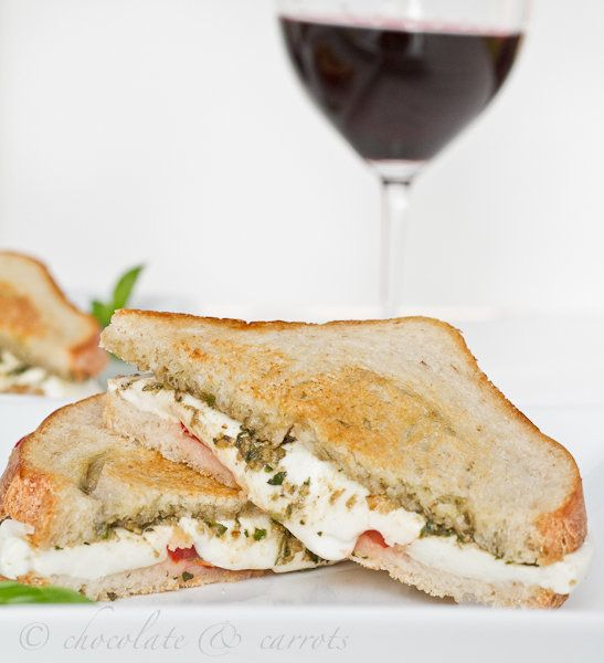 """<strong>Get the <a href=""""http://chocolateandcarrots.com/2011/07/italian-grilled-cheese"""">Italian Grilled Cheese recipe from Ch"""