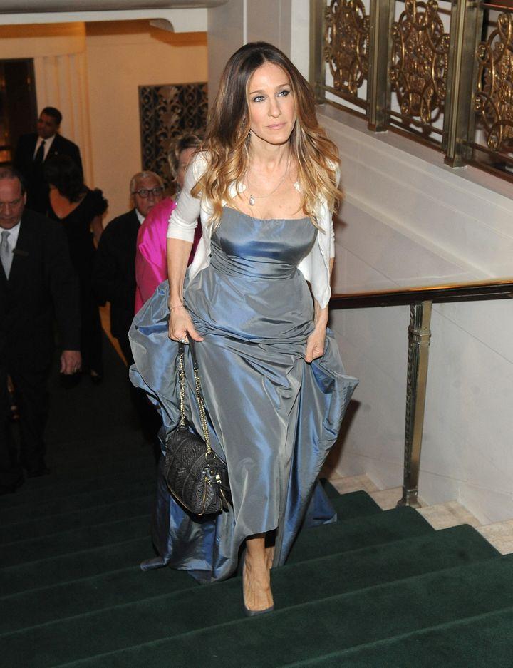 e1af399b377 Sarah Jessica Parker At The Carnegie Hall Medal Of Excellence Gala ...