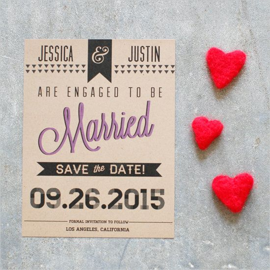 photograph relating to Printable Save the Date titled Wedding ceremony Tips: 11 Absolutely free Printable Conserve The Dates By yourself Can Generate