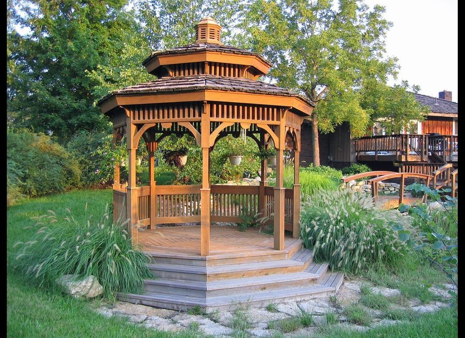 Backyard Gazebo outdoor decor: 15 backyard gazebos that are perfect for summer