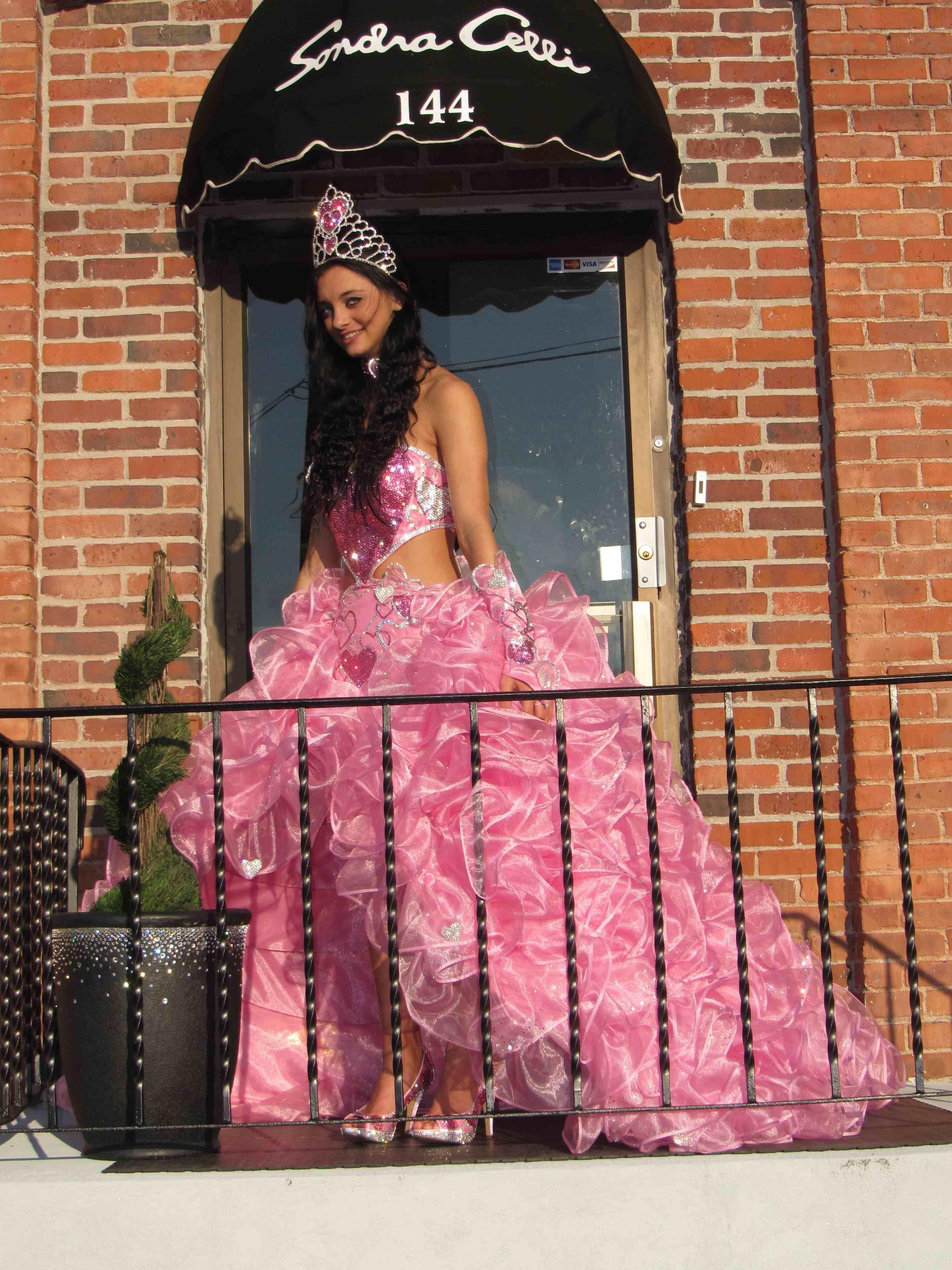 Wedding Dresses Sondra Celli Bling