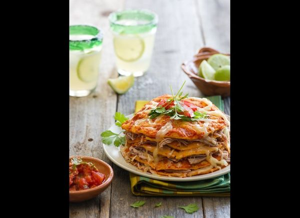 "<strong>Get the <a href=""http://whiteonricecouple.com/recipes/chipotle-pork-enchiladas/"" target=""_hplink"">Chipotle Shredded P"