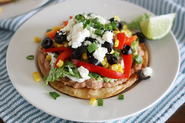 "<strong>Get the <a href=""http://www.girlversusdough.com/2013/03/15/nine-layer-mexican-tostadas/"" target=""_blank"">Nine-Layer M"