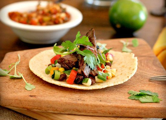 "<strong>Get the <a href=""http://tastefoodblog.com/2012/08/24/chipotle-skirt-steak-fajitas-recipe/"">Chipotle Skirt Steak Tacos"