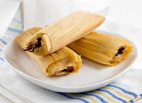 "<strong>Get the <a href=""http://www.evilshenanigans.com/2011/06/beef-short-rib-tamales/"">Beef Short Rib Tamales recipe from E"