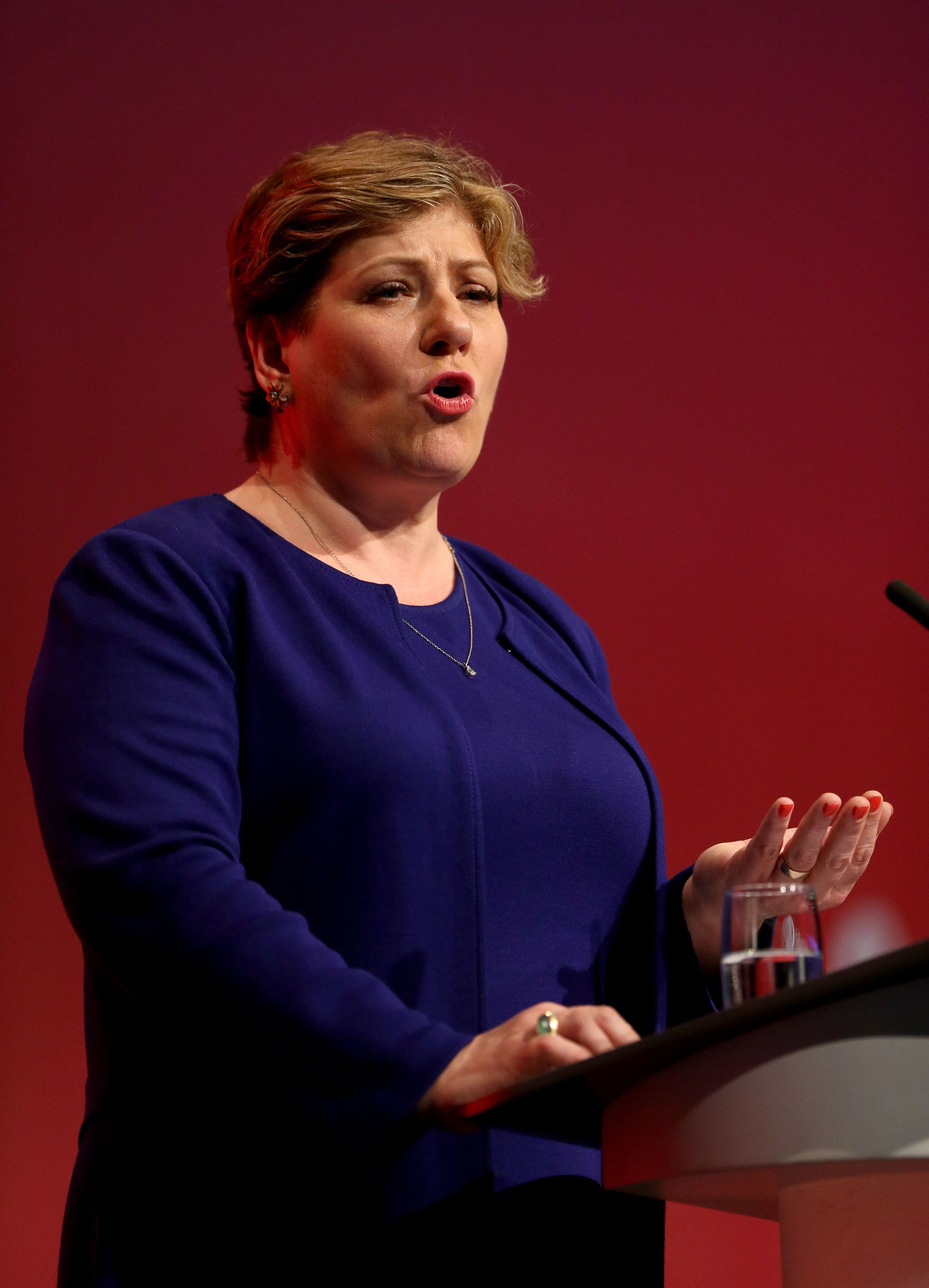 Labour Will Vote Down Theresa May's Brexit Deal, Emily Thornberry