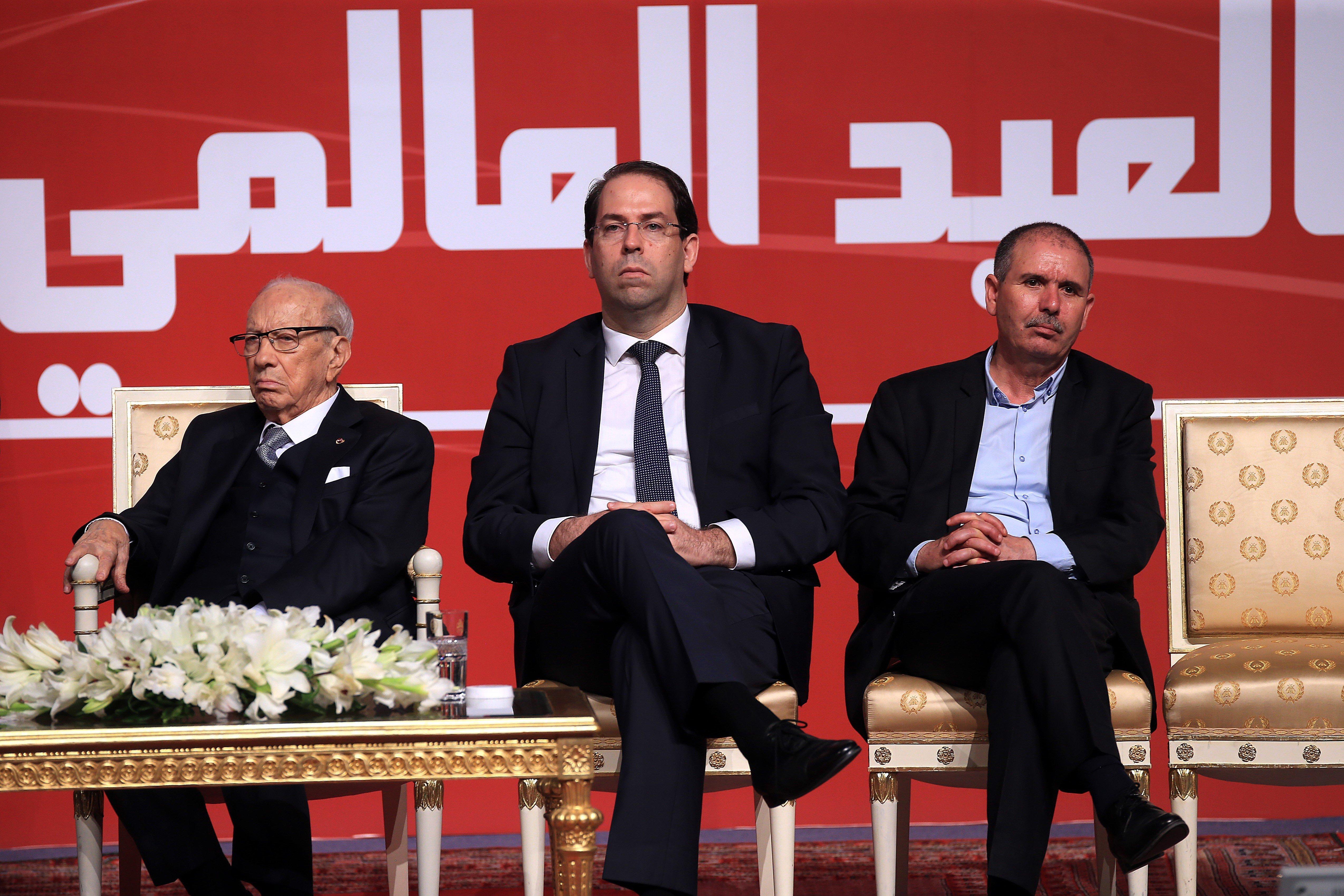Youssef Chahed revient sur le boycott de l'UGTT et sur l'ultimatum posé par Nidaa