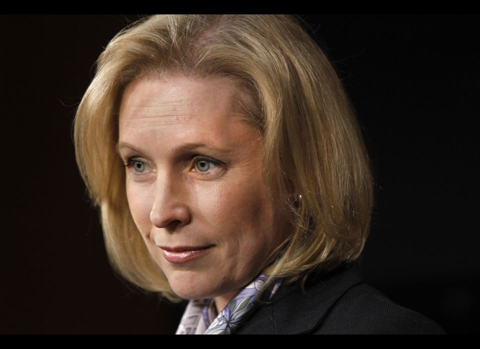 <br>The junior U.S. Senator from New York is the mom of two young boys and a force to be reckoned with as she runs for re-ele
