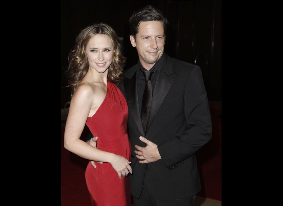 "Despite Jennifer Love Hewitt and ex fiancée Ross McCall's ""amicable"" split in January 2009, the pair became embroiled in a<a"