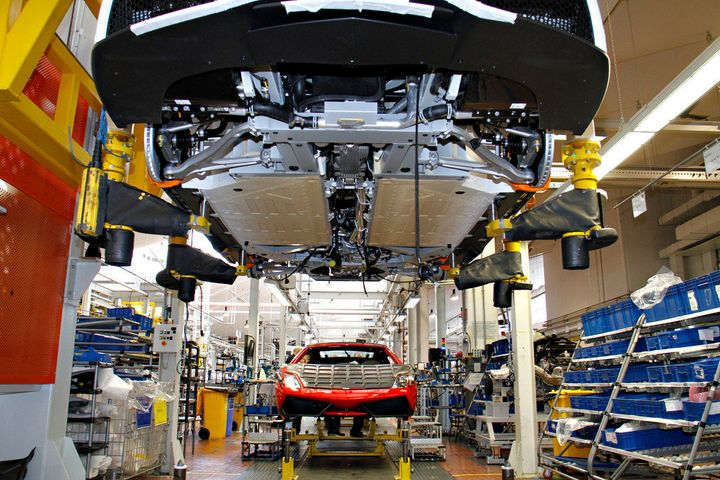 Marveling At The Wonders Of The Lamborghini Factory Photos