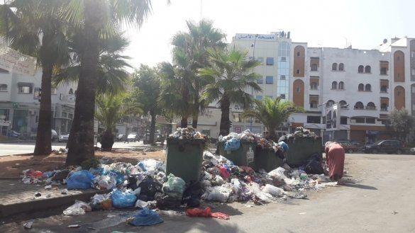 Casablanca: la grève des éboueurs plonge la ville sous les