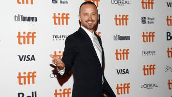 Actor Aaron Paul arrives for the premiere of American Woman at the Toronto International Film Festival (TIFF) in Toronto, Canada, September 9, 2018. REUTERS/Mark Blinch