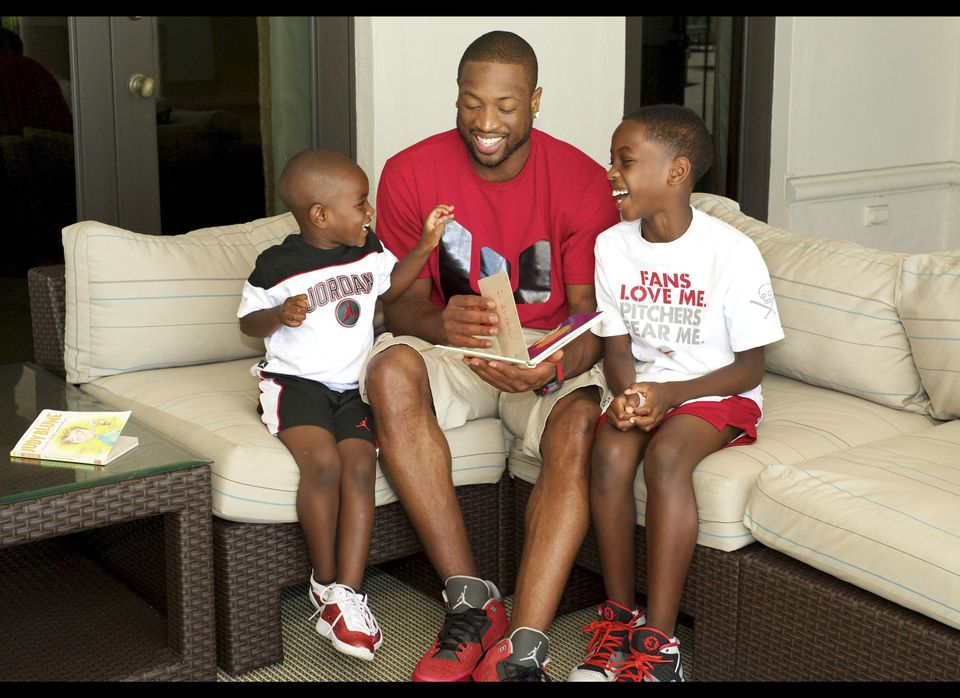 "In March 2011, a Chicago court awarded NBA star Dwayne Wade <a href=""https://www.huffpost.com/entry/dwyane-wade-custody-battl"