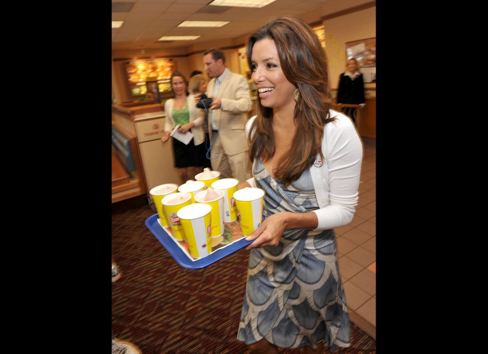 """Longoria <a href=""""http://www.contactmusic.com/news/eva-keeps-in-touch-with-wendys-staff_1077508"""" target=""""_hplink"""">told Latina"""