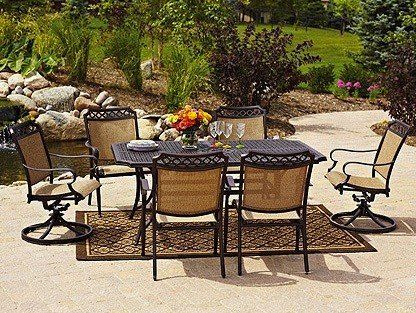 If Youu0027re Thinking About Sprucing Up Your Outdoor Area For Al Fresco  Dinners With Friends And Family In The Coming Months, A Dining Set That  Provides ...