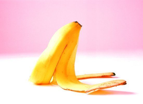 Use a banana peel to polish your silverware -- blend the peels with a little bit of water to make a polishing paste.