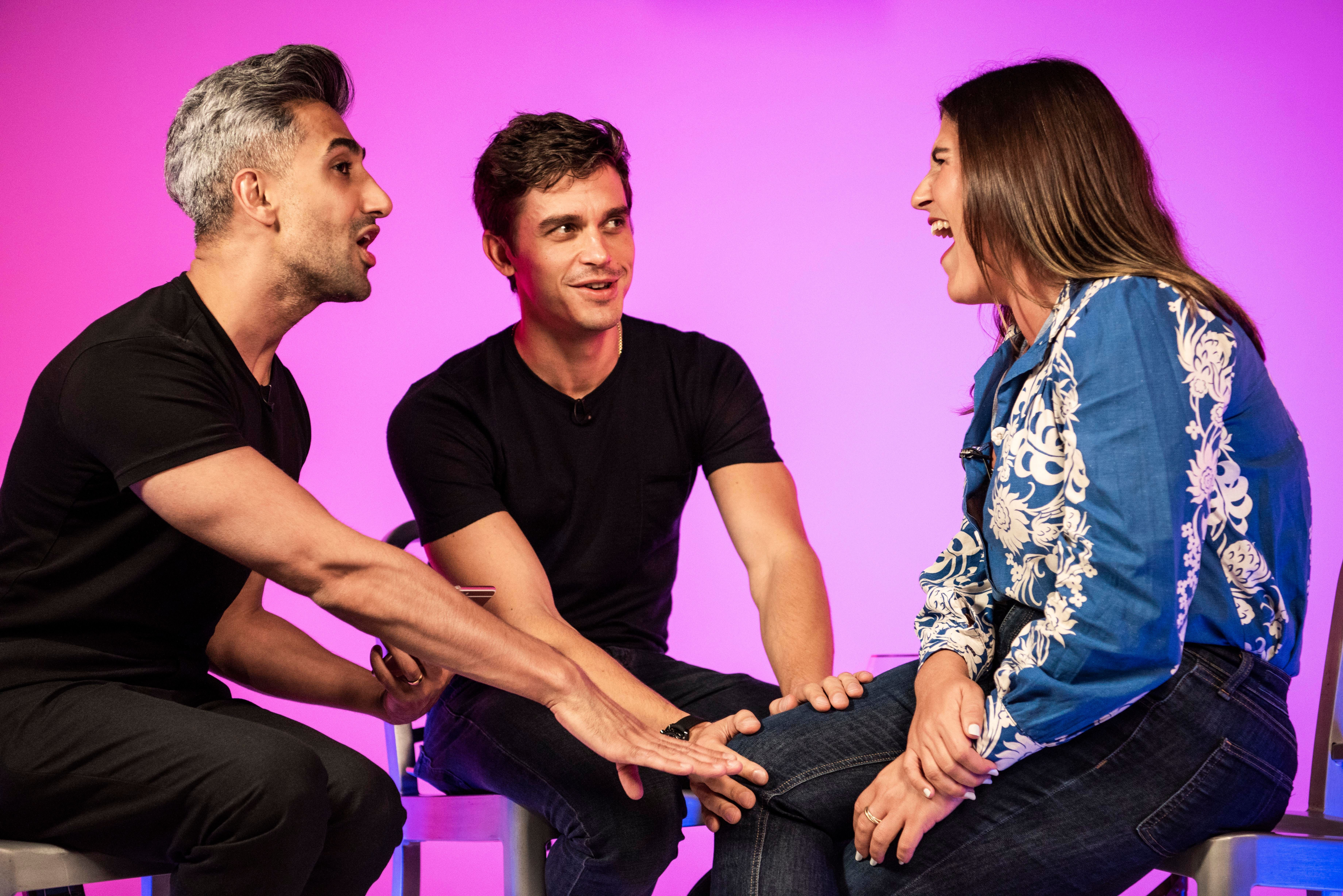 Here's What Happened When Tan And Antoni 'Queer Eyed' My Love