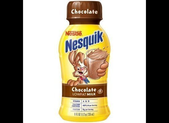 "An 8-ounce bottle of this sweet sip adds up to <a href=""http://www.nesquik.com/adults/products/nesquikreadytodrink/chocolate."