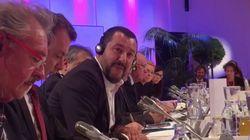 EU-Streit eskaliert: Salvini sorgt vor laufender Kamera für