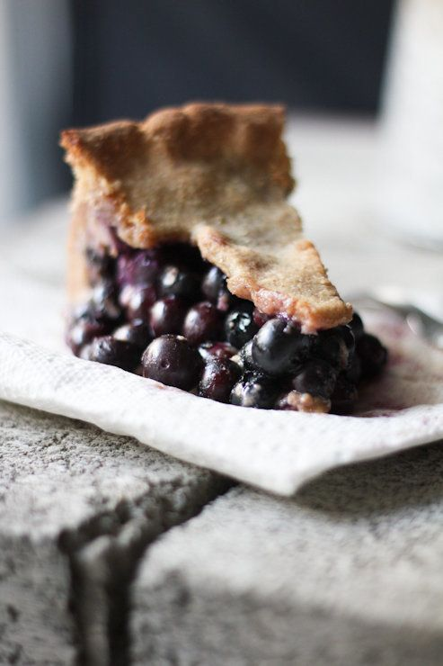 """<strong>Get the <a href=""""http://www.adventures-in-cooking.com/2011/06/buttermilk-blueberry-pie.html"""" target=""""_blank"""">Buttermi"""